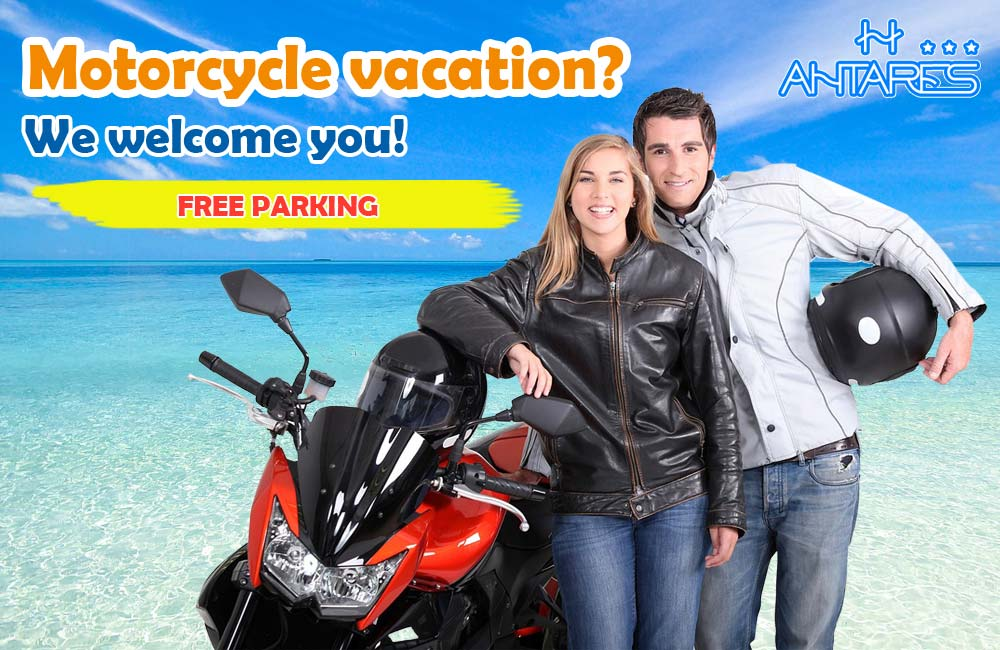 Promotion motorcycle vacation - Hotel Antares Alba Adriatica